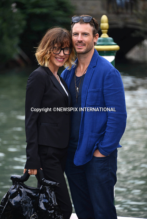 05.09.2015; Venezia, Italy: GABRIELLA PESSION AND RICHARD FLOOD<br /> at the 72nd Venice International Film Festival.<br /> Mandatory Credit Photo: &copy;NEWSPIX INTERNATIONAL<br /> <br /> **ALL FEES PAYABLE TO: &quot;NEWSPIX INTERNATIONAL&quot;**<br /> <br /> PHOTO CREDIT MANDATORY!!: NEWSPIX INTERNATIONAL(Failure to credit will incur a surcharge of 100% of reproduction fees)<br /> <br /> IMMEDIATE CONFIRMATION OF USAGE REQUIRED:<br /> Newspix International, 31 Chinnery Hill, Bishop's Stortford, ENGLAND CM23 3PS<br /> Tel:+441279 324672  ; Fax: +441279656877<br /> Mobile:  0777568 1153<br /> e-mail: info@newspixinternational.co.uk