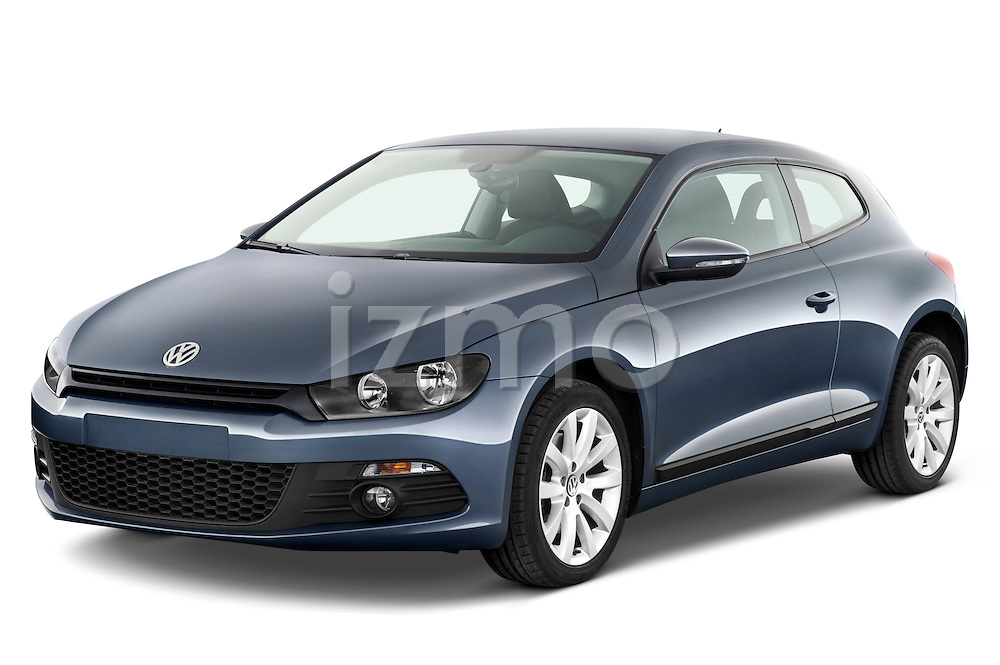 Front three quarter view of a 2009 Volkswagen Scirocco.