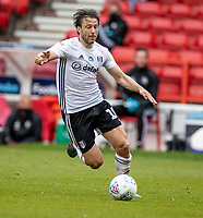 7th July 2020; City Ground, Nottinghamshire, Midlands, England; English Championship Football, Nottingham Forest versus Fulham; Harry Arter of Fulham on a fast break