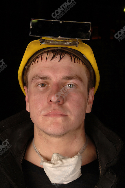 A worker in the smelting section of the nickel factory of Norilsk Nickel in the Artic city of Norilsk in the far north of Russia. June 13, 2007