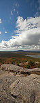 View from Parkman Mountain Trail, Acadia NP, Autumn, Maine