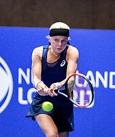 Alphen aan den Rijn, Netherlands, December 13, 2018, Tennispark Nieuwe Sloot, Ned. Loterij NK Tennis,  Eva Vedder (NED)<br /> Photo: Tennisimages/Henk Koster