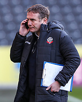 Bolton Wanderers' manager Phil Parkinson pictured before the match<br /> <br /> Photographer Andrew Kearns/CameraSport<br /> <br /> The EFL Sky Bet Championship - Hull City v Bolton Wanderers - Tuesday 1st January 2019 - KC Stadium - Hull<br /> <br /> World Copyright © 2019 CameraSport. All rights reserved. 43 Linden Ave. Countesthorpe. Leicester. England. LE8 5PG - Tel: +44 (0) 116 277 4147 - admin@camerasport.com - www.camerasport.com