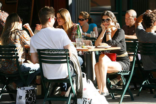 WWW.ACEPIXS.COM . . . . .  ....September 18, 2010....Actor Xavier Samuel and girlfriend Shermine Shahrivarhave lunch at Bar Pitti on September 18, 2010 in New York City.......Please byline: NANCY RIVERA - ACEPIXS.COM.... *** ***..Ace Pictures, Inc:  ..Philip Vaughan  (646) 769 0430..e-mail: info@acepixs.com..web: http://www.acepixs.com