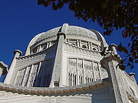 The Baha'i Temple in Wilmette, Illinois, USA.