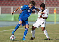 Bryan Duran. Italy defeated the US Under-17 Men's National Team 2-1 in Kaduna, Nigera on November 4th, 2009.