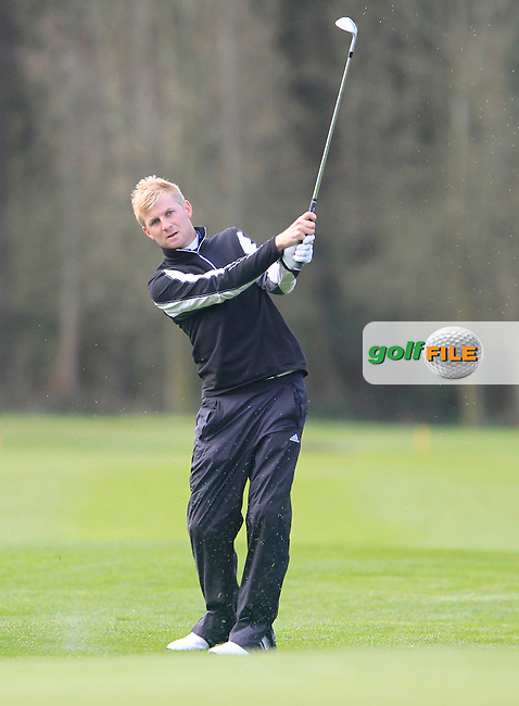 Stephen Walsh (Portmarnock) during the Headfort Scratch Cup, Kells, Co Meath 21/4/13.Picture: Thos Caffrey www.golffile.ie...