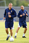Christophe Berra and Alan Hutton