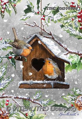 Marcello, CHRISTMAS LANDSCAPES, WEIHNACHTEN WINTERLANDSCHAFTEN, NAVIDAD PAISAJES DE INVIERNO, paintings+++++,ITMCXM2069BW,#XL#
