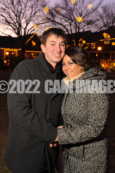 LAHASKA, PA - DECEMBER 18:  Lily & Tom photographed December 18, 2011 in Lahaska, Pennsylvania. (Photo by William Thomas Cain/cainimages.com)