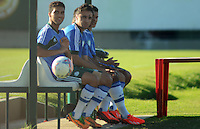 SÃO PAULO,SP, 16 julho 2013 -  treino do Palmeiras no CT da Barra funda  na zona oeste de Sao Paulo, onde a equipe faz jogo treino contra o Atletico Atibaia . FOTO ALAN MORICI - BRAZIL FOTO PRESS