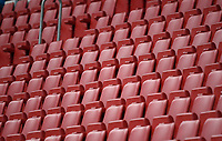 24th May 2020, Opel Arena, Mainz, Rhineland-Palatinate, Germany; Bundesliga football; Mainz 05 versus RB Leipzig; The empty stands during the game