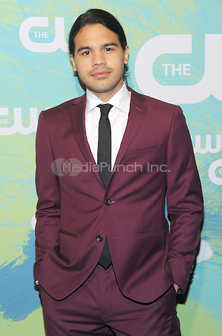 NEW YORK, NY - MAY 19: Carlos Valdes attends the 2016 CW Upfront presentation at the London Hotel on May 19, 2016 in New York City. Photo Credit: John Palmer/ Media Punch