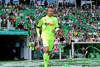 GRONINGEN - Voetbal, Open dag FC Groningen ,  seizoen 2017-2018, 06-08-2017,  FC Groningen doelman Segio Padt