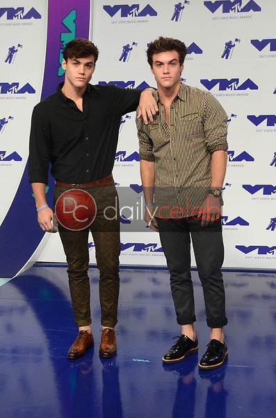 Dolan Twins<br /> at the 2017 MTV Video Music Awards, The Forum, Inglewood, CA 08-27-17<br /> David Edwards/DailyCeleb.com 818-249-4998