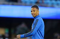 San Jose, CA - Friday April 14, 2017: Danny Hoesen  prior to a Major League Soccer (MLS) match between the San Jose Earthquakes and FC Dallas at Avaya Stadium.