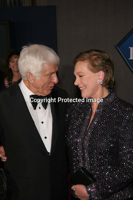Dick Van Dyke &amp; Julie Andrews<br />&quot;Mary Poppins&quot; 40th Anniversary and Launch of the Special Edition DVD<br />El Capitan Theatre<br />Hollywood, CA, USA<br />Tuesday, November 30th, 2004<br />Photo By Celebrityvibe.com/Photovibe.com, <br />New York, USA, Phone 212 410 5354, <br />email: sales@celebrityvibe.com