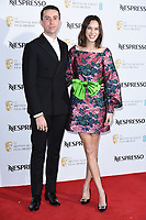 LONDON, UK. February 09, 2019: Nick Grimshaw and Alexa Chung arriving for the 2019 BAFTA Film Awards Nominees Party at Kensington Palace, London.<br /> Picture: Steve Vas/Featureflash