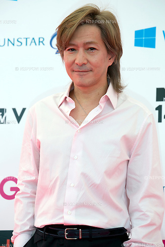 Tetsuya Komuro, June 14, 2014 : MTV VMAJ (Video Music Awards Japan 2014 at Maihama Amphitheater in Chiba, Japan. (Photo by Rodrigo Reyes Marin/AFLO)