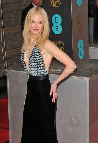 Nicole Kidman at the EE British Academy Film Awards (BAFTAs) 2017, Royal Albert Hall, Kensington Gore, London, England, UK, on Sunday 12 February 2017.<br /> CAP/CAN<br /> &copy;CAN/Capital Pictures /MediaPunch ***NORTH AND SOUTH AMERICAS ONLY***