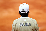 Reika Utsugi (JPN), <br /> AUGUST 24, 2018 - Softball : <br /> Women's Final match <br /> between Japan 7-0 Chinese Taipei <br /> at Gelora Bung Karno Softball field <br /> during the 2018 Jakarta Palembang Asian Games <br /> in Jakarta, Indonesia. <br /> (Photo by Naoki Nishimura/AFLO SPORT)