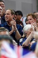 20120730 Olimpiadi Londra 2012  I principi William ed Harry