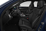 Front seat view of a 2019 BMW M5 Competition Base 4 Door Sedan front seat car photos