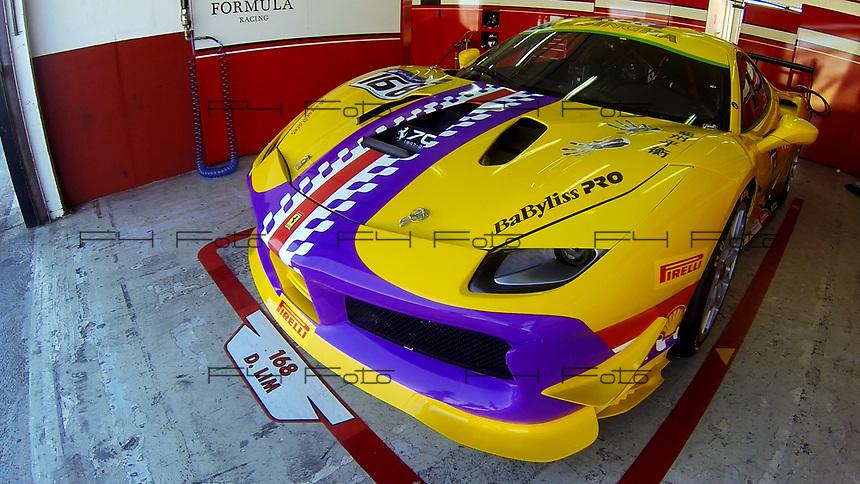VALENCIA, SPAIN - 20/05/2017. Ferrari Challenge Series 2017. Circuito Ricardo Tormo, Cheste, Valencia.