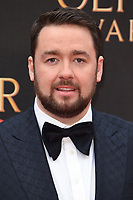 Jason Manford<br /> arriving for the Olivier Awards 2019 at the Royal Albert Hall, London<br /> <br /> ©Ash Knotek  D3492  07/04/2019