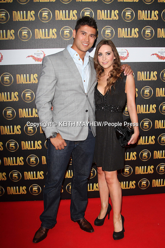 London - Channel 5's Dallas Launch Party at Old Billingsgate Market, London - August 21st 2012..Photo by Keith Mayhew.