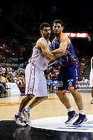 Temporada 2014 - 15 Liga ACB<br /> <br /> Presentaci&oacute;n Valencia Basket<br /> <br /> Amistoso Valencia Basket Club vs Cai Zaragoza<br /> <br /> Sam Van Rossom vs Kevin Lisch