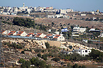 "The Israeli settlement of Kharsina settlement in pictured in the West Bank city near of Hebron on November 19, 2019. Israeli Prime Minister Benjamin Netanyahu said a US statement deeming Israeli settlement not to be illegal ""rights a historical wrong"". But the Palestinian Authority decried the US policy shift as ""completely against international law"". Both sides were responding to an announcement by US Secretary of State Mike Pompeo saying that Washington ""no longer considers Israeli settlements to be ""inconsistent with international law"". Photo by Mosab Shawer"