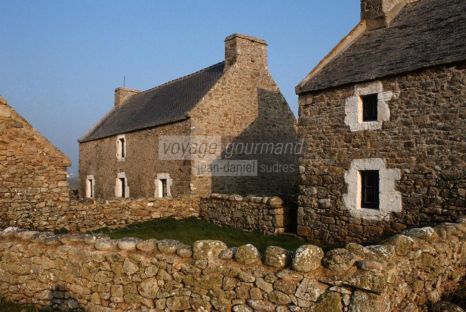 Europe/France/Bretagne/29/Finistère/Ile d'Ouessant/Ecomusée de NIOU: Le maison des techniques ouessantines