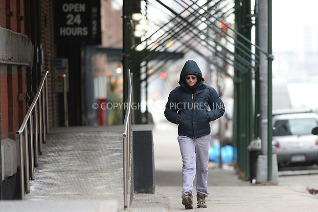 WWW.ACEPIXS.COM<br /> February 21, 2015 New York City<br /> <br /> Bradley Cooper was seen heading to a broadway performance of Elephant Man on February 21, 2015 in New York City.<br /> <br /> Please byline: Kristin Callahan/AcePictures<br /> <br /> ACEPIXS.COM<br /> <br /> Tel: (646) 769 0430<br /> e-mail: info@acepixs.com<br /> web: http://www.acepixs.com