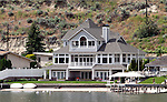 This waterfront home located on Lake Chelan sold in 2009 for several million dollars.