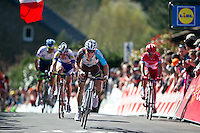 2016 La Fleche Wallonne<br /> Huy, Belgium<br /> 20 April 2016<br /> Jan Bakelants , AG2R-La Mondiale