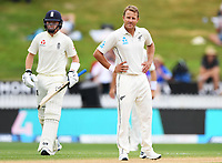 2nd December, Hamilton, New Zealand; Neil Wagner on day 4 of the 2nd test cricket match between New Zealand and England  at Seddon Park, Hamilton, New Zealand.