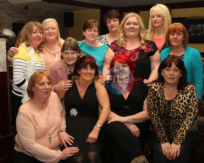 Mary McGinn's 50th in McHughs...(Photo credit should read Jenny Matthews/NEWSFILE)...