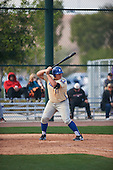 Jesse Garcia (17) of Grossmont High School in El Cajon, California during the Under Armour All-American Pre-Season Tournament presented by Baseball Factory on January 14, 2017 at Sloan Park in Mesa, Arizona.  (Zac Lucy/Mike Janes Photography)