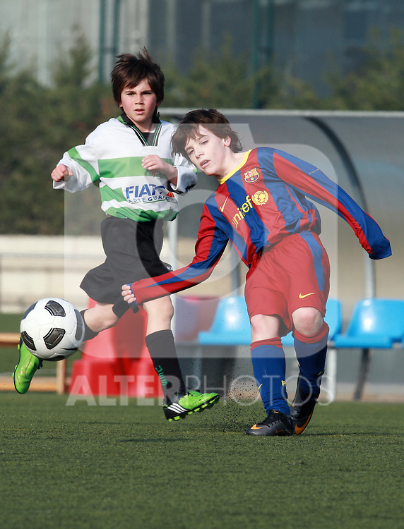 Joan Gamper sporting complex, Barcelona, Spain, 12th Feb 2011.