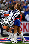 4 November 2007: The Buffalo Bills cheerleaders, the Buffalo Jills, entertain the fans during a game against the Cincinnati Bengals at Ralph Wilson Stadium in Orchard Park, NY. The Bills defeated the Bengals 33-21 in front of a sellout crowd of 70,745...Mandatory Photo Credit: Ed Wolfstein Photo