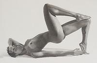 Yvonne 1 ~ Graphite on paper 14 x 11 inch (35.56 x 27.94 cm)
