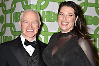 BEVERLY HILLS, CA - JANUARY 06: Neal McDonough (L) and Ruve McDonough attend HBO's Official Golden Globe Awards After Party at Circa 55 Restaurant at the Beverly Hilton Hotel on January 6, 2019 in Beverly Hills, California.<br /> CAP/ROT/TM<br /> &copy;TM/ROT/Capital Pictures