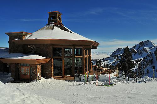 John Paul Day Lodge.On summit of Snowbasin Resort,.Utah.... .