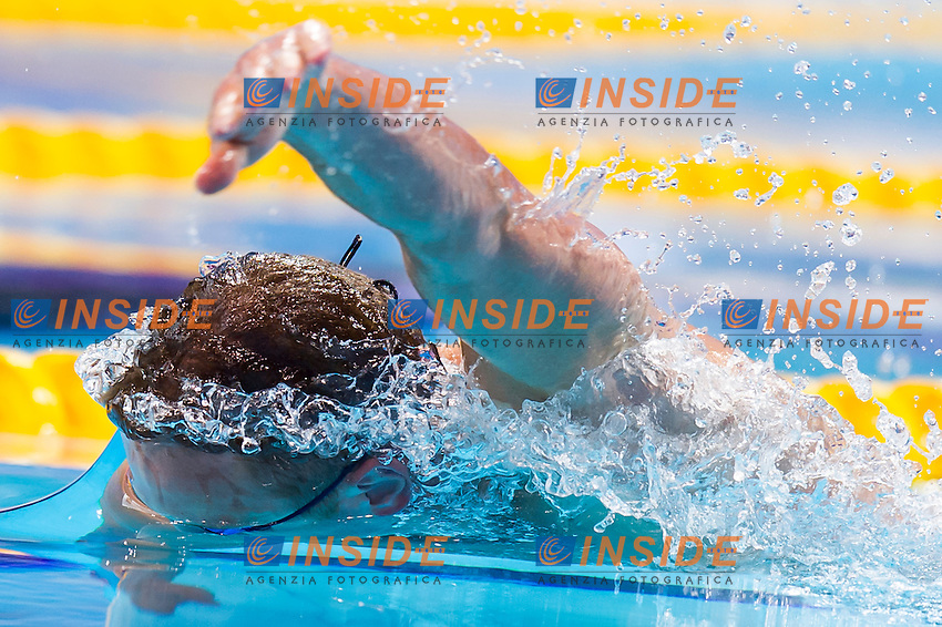 GRECHIN Andrey RUS<br /> London, Queen Elizabeth II Olympic Park Pool <br /> LEN 2016 European Aquatics Elite Championships <br /> Swimming<br /> Men's 100m freestyle semifinal  <br /> Day 11 19-05-2016<br /> Photo Giorgio Perottino/Deepbluemedia/Insidefoto