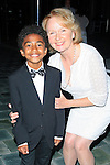 LOS ANGELES - JUN 7: Miles Brown, Kate Burton at the Actors Fund's 19th Annual Tony Awards Viewing Party at the Skirball Cultural Center on June 7, 2015 in Los Angeles, CA