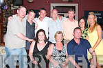 Ruth Kelly, seated centre celebrated her 60th birthday with her  family and friends in Lowe's Bar, Ballyduff on Saturday night, she is  pictured here with John, Jack, Mark, Barry, David Orla, Rebecca Niamh and Andrew..   Copyright Kerry's Eye 2008