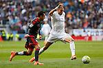 Real Madrid´s Pepe during 2015/16 La Liga match between Real Madrid and Celta de Vigo at Santiago Bernabeu stadium in Madrid, Spain. March 05, 2016. (ALTERPHOTOS/Victor Blanco)