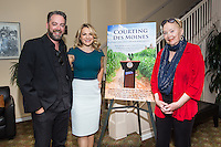 """Brent Roske, Catherine Urbanek and Sally Kirkland attend the Screening and Reception for Feature Film """"Courting Des Moines"""" at the Charlie Chaplin Theater, Raleigh Studios in Los Angeles on Thursday, June 30, 2016 (Photo by Inae Bloom/Guest of a Guest)"""