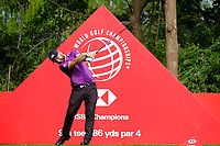 Andy Sullivan (ENG) on the 9th tee  during the 1st round at the WGC HSBC Champions 2018, Sheshan Golf CLub, Shanghai, China. 25/10/2018.<br /> Picture Phil Inglis / Golffile.ie<br /> <br /> All photo usage must carry mandatory copyright credit (&copy; Golffile | Phil Inglis)